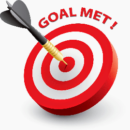 meet race fundraising goal